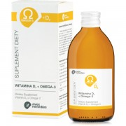 Suplement diety Witamina D3 + Omega-3 300 ml